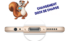 Changement dock de charge Iphone