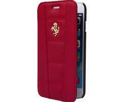 Folio Ferrari rouge iPhone  - La Boutique du mobile - aigues mortes