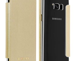 Folio Guess Samsung S8 or - La Boutique du mobile - aigues mortes