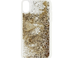 coque paillette or iphone x - la boutique du mobile - aigues mortes